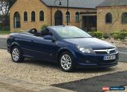 2009 VAUXHALL ASTRA TWINTOP SPORT BLUE *****LOW MILES***** for Sale