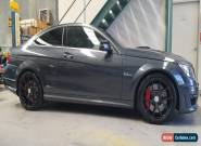 `MERCEDES C63 AMG COUPE IMMACULATE 1 OWNER  for Sale