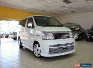2000 Nissan Elgrand ALE50 Rider White Automatic 4sp A Wagon for Sale