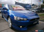 2007 Mitsubishi Lancer CH MY07 VR-X Rally Blue Manual 5sp M Sedan for Sale