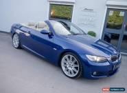 2007 BMW 330D M-SPORT AUTO CONVERTIBLE LE-MANS BLUE for Sale