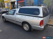 FORD BA UTE DEDICATED LPG AUTOMATIC - 2004 for Sale