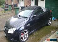 2004 VAUXHALL TIGRA SPORT TWINPORT BLACK (SPARES OR REPAIRS) for Sale
