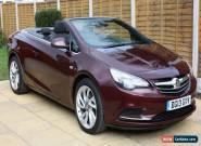 2013 (13reg) Vauxhall Cascada 2.0 Cdti Se Auto 2 door Diesel Convertible in red for Sale
