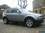 bmw x3..2005,full service history,79000 miles for Sale