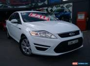 2012 Ford Mondeo MC LX Tdci White Automatic 6sp A Hatchback for Sale