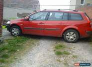 2007 RENAULT MEGANE EXPRESSION DCI 106 RED SPARES OR REPAIR for Sale