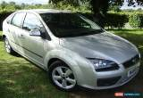 Classic Ford Focus 1.8 125 2006 / 56 reg Zetec Climate 5 door Silver for Sale