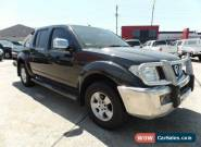 2008 Nissan Navara D40 ST-X (4x4) Manual 6sp M for Sale