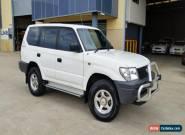 2002 Toyota Landcruiser Prado VZJ95R RV6 (4x4) White Manual 5sp M Wagon for Sale