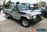 Classic 2010 Toyota Landcruiser VDJ79R 09 Upgrade GXL(4x4) Silver Manual 5sp M for Sale