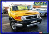 Classic 2011 Toyota FJ Cruiser GSJ15R Yellow Automatic 5sp A Wagon for Sale