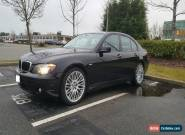 2008 BMW 7-Series 750i for Sale