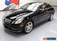2012 Mercedes-Benz E-Class Base Coupe 2-Door for Sale