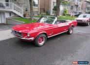 1968 Ford Mustang Base Convertible 2-Door for Sale