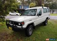 >> 239 kms << 2005 Toyota Landcruiser Troopcarrier Troopy Diesel for Sale