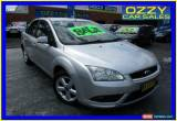 Classic 2008 Ford Focus LT LX Silver Automatic 4sp A Sedan for Sale