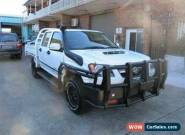 2012 Holden Colorado RC MY11 LX (4x4) White Manual 5sp M Crew Cab P/Up for Sale