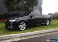 2008 Ford Falcon FG XR6 Black Automatic 5sp A Utility for Sale