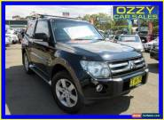 2008 Mitsubishi Pajero NS X Black Automatic 5sp A Wagon for Sale