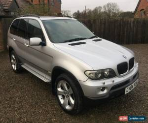 Classic 2004 BMW X5 FACELIFT SPORT 3.0D DIESEL AUTO AUTOMATIC SILVER LOW MILEAGE E53 4X4 for Sale