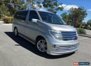 2004 Nissan Elgrand E51 Rider S Silver Automatic 5sp A Wagon for Sale