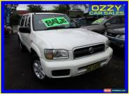 2004 Nissan Pathfinder MY03 ST (4x4) White Automatic 4sp A Wagon for Sale