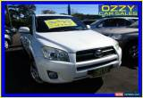 Classic 2009 Toyota RAV4 ACA33R 08 Upgrade Cruiser (4x4) White Automatic 4sp A Wagon for Sale