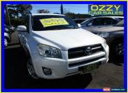 2009 Toyota RAV4 ACA33R 08 Upgrade Cruiser (4x4) White Automatic 4sp A Wagon for Sale