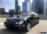 2005 Mercedes-Benz E-Class Base Sedan 4-Door for Sale