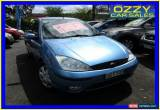 Classic 2003 Ford Focus LR CL Blue Manual 5sp M Sedan for Sale