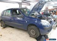 2004 RENAULT CLIO EXPRESSION 16V BLUE (SPARES OR REPAIRS) for Sale