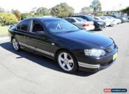 2004 Ford Falcon BA XR6 Black Manual 5sp M Sedan for Sale