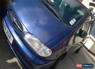 1999 FORD GALAXY GHIA X TD BLUE spares or repair short mot for Sale