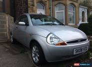 2008 FORD KA ZETEC 1.3 NON RUNNER/SPARES OR REPAIR for Sale