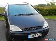 2003 FORD GALAXY ZETEC 1.9TDI AUTO BLACK, AUTOMATIC 115 7 SEATS for Sale