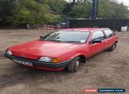 1989 Ford Fiesta 1.1L, 3 Door, Classic Car for Sale