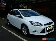FORD FOCUS 1.0 ECOBOOST ZETEC 2012 WHITE 5 DOOR for Sale