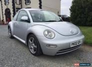 Volkswagen VW Beetle 1.9 Tdi Diesel 2002 Silver for Sale