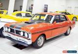 Classic 1970 Ford Falcon XY GT Vermillion Red Manual 4sp M Sedan for Sale