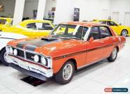 1970 Ford Falcon XY GT Vermillion Red Manual 4sp M Sedan for Sale