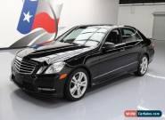 2013 Mercedes-Benz E-Class Base Sedan 4-Door for Sale