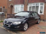 vw passat 1.9tdi se 105 bhp black 2007 for Sale