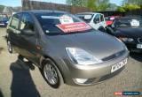 Classic 2004 FORD FIESTA GHIA 1.4 SEMI-AUTO SILVER for Sale
