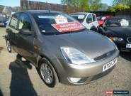 2004 FORD FIESTA GHIA 1.4 SEMI-AUTO SILVER for Sale