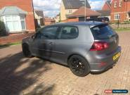 2007 VOLKSWAGEN GOLF R32 GREY for Sale
