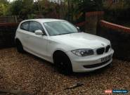 BMW 116i SPORT 2.0 SPARES OR REPAIR 59 PLATE for Sale