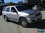 NISSAN PATHFINDER 08/2002 V6 AUTOMATIC WITH STEER AIR AND CLEAR PINK SLIP CHEAP for Sale
