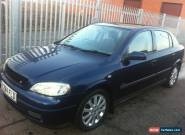 2000 VAUXHALL ASTRA SXI 16V BLUE for Sale