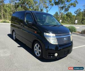 Classic 2004 Nissan Elgrand NE51 Highway St Black Automatic 5sp A Wagon for Sale